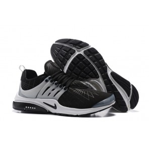 Chaussures Homme Nike Air Presto Noir Blanche Pas Cher