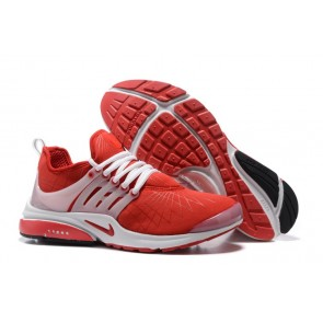 Chaussures Nike Presto Homme Pas Cher - Nike Air Presto Rouge Blanche