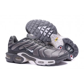 Nike Air Max TN Plus Soldes, Chaussures Homme, Argent Grise