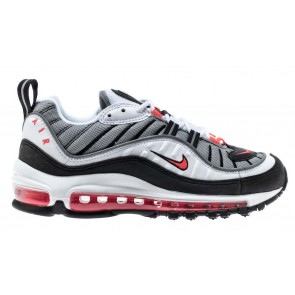 Acheter Nike Air Max 98 Femme Blanche Rouge