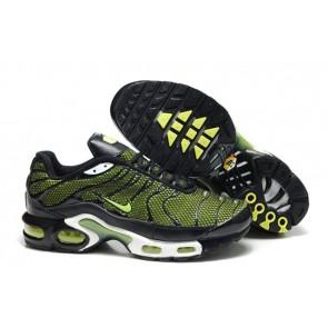 Nike Air Max TN Plus Homme, Boutique Chaussures Noir Verte