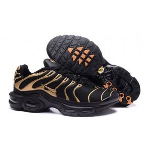 Nike Air Max TN Plus Pas Cher, Chaussures Homme, Noir Or