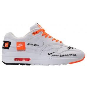 """Nike Air Max 1 Lux """"Just Do It"""" Femme Blanche Noir En ligne"""