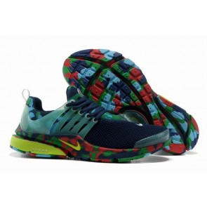 Boutique Chaussures Nike Air Presto Homme Bleu Verte Camo