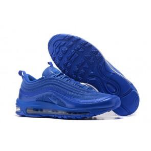 Homme Nike Air Max 97 OG GS Bleu Soldes