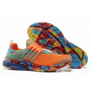 Chaussures Nike Air Presto Homme Orange Camo Soldes
