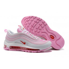 "Acheter Femme Nike Air Max 97 GS ""Valentines Day"" Rose Blanche"