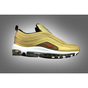 Boutique Homme Nike Air Max 97 Or Blanche