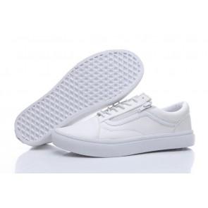 vans blanche solde