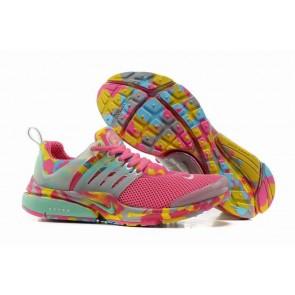 Chaussures Nike Air Presto Femme Pas Cher - Rose Jaune Camo