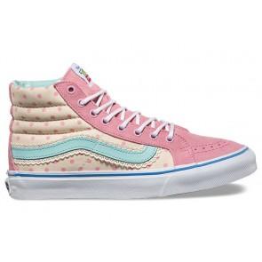 Chaussures Femme Vans Toy Story SK8 Hi Slim Blanche Soldes