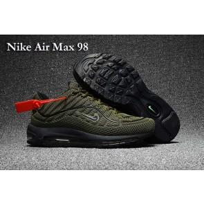 Acheter Homme Supreme x Nike Air Max 98 KPU TPU Verte