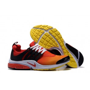 Homme Nike Air Presto Chaussures Noir Jaune En ligne