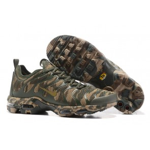 Nike Air Max Plus TN Ultra Chaussures Verte Coffee Camouflage Soldes