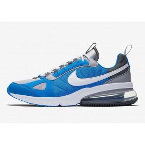 Homme Nike Air Max 270 Futura Bleu Grise Rabais