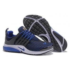 Chaussures Homme Nike Air Presto Noir Bleu Pas Cher