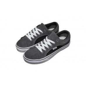 Chaussures Vans Brite Old Skool Grise Noir Pas Cher