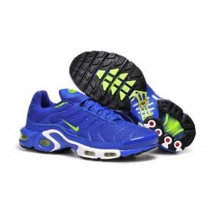 Chaussures Nike Air Max TN Plus Homme Bleu Verte Soldes