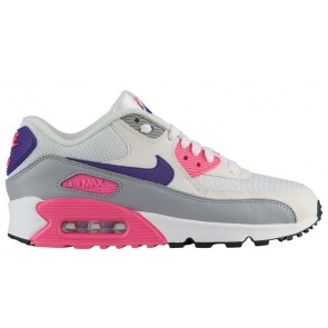 """Homme Nike Air Max 90 """"Laser Rose"""" Blanche Pourpre Soldes"""