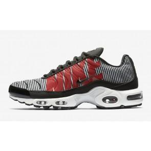 "Homme Nike Air Max Plus TN SE ""Striped"" Noir Blanche Soldes"