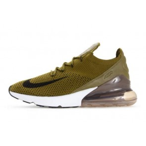 Homme Nike Air Max 270 Flyknit Olive Flak Meilleur Prix
