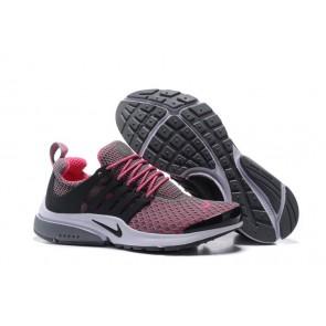 Chaussures Femme Nike Air Presto QS Grise Rose