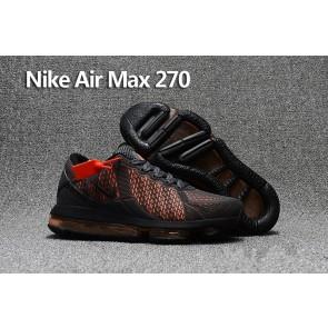 Homme Nike Air Max 270 Trainers KPU TPU Noir Grise En ligne