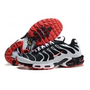 Nike Air Max TN Plus Homme Soldes - Chaussures Noir Blanche