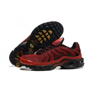 Acheter Chaussures Nike Air Max TN Plus Homme Rouge Noir