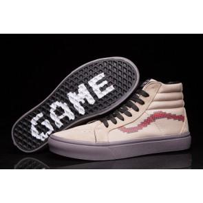 Boutique Chaussures Vans SK8 Hi Slim Console Dove