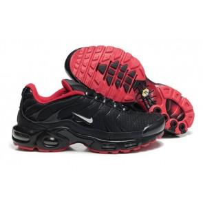 Chaussures Nike Air Max TN Plus Homme Noir Rouge Pas Cher