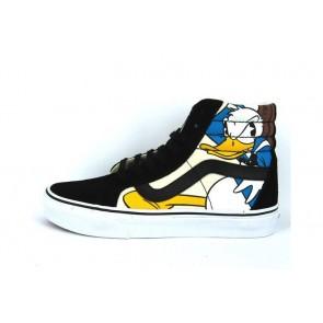 Boutique Chaussures Vans SK8 Hi Reissue Noir Multi Color