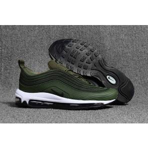 Acheter Nike Air Max 97 KPU TPU Homme Verte Noir
