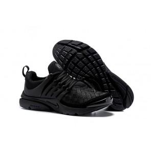 Chaussures Nike Air Presto SE Woven Noir Pas Cher