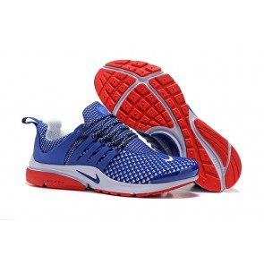 Nike Air Presto QS Soldes - Chaussures Homme, Bleu Rouge