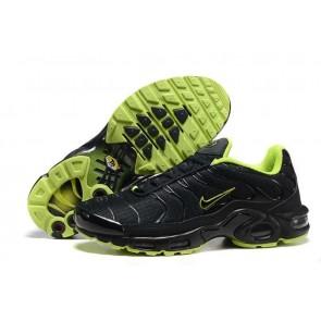 Acheter Chaussures Nike Air Max TN Plus Homme Noir Verte