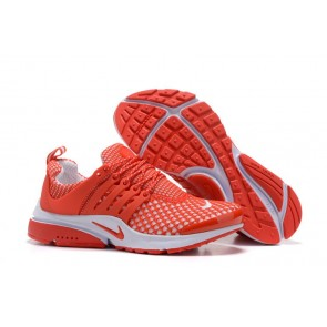 Chaussures Femme Nike Air Presto QS Soldes, Rouge Blanche
