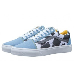 Chaussures Vans Toy Story Old Skool Woody Denim Pas Cher