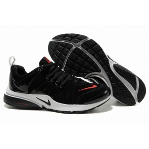 Chaussures Nike Air Presto Noir Rouge Soldes