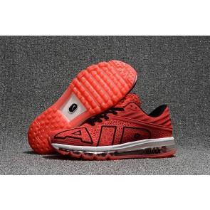 Chaussures Nike Air Max Flair 2017 Homme Rouge Noir Pas Cher