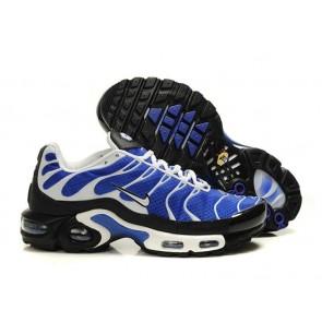 Chaussures Nike Air Max TN Plus Homme Bleu Blanche Soldes
