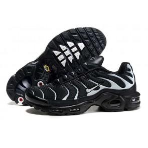 Acheter Chaussures Nike Air Max TN Plus Homme Noir Blanche