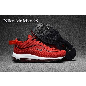 Boutique Homme Supreme x Nike Air Max 98 KPU TPU Rouge Noir