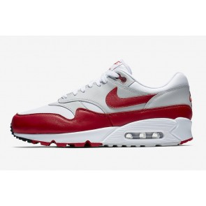 on sale 9898a 0a561 Nike Air Max 90 1 Blanche Neutral Grise Noir Meilleur Prix NewSale