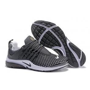 Chaussures Homme Nike Air Presto QS Noir Blanche Moins Cher