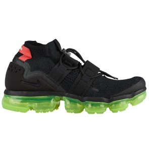 "Homme Nike Air VaporMax Flyknit Utility ""Yeezy"" Noir Rouge Pas Cher"
