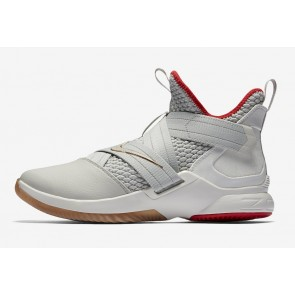 "Boutique Nike LeBron Soldier 12 Homme ""Yeezy"" Or Rouge"