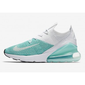 "Boutique Femme Nike Air Max 270 Flyknit ""Igloo"" Igloo Blanche Noir"