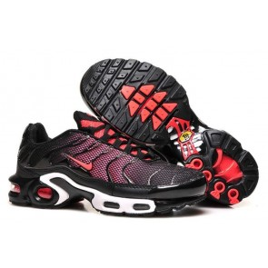 Chaussures Nike Air Max TN Plus Femme Noir Rouge Pas Cher