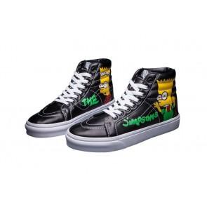 Chaussures Vans Noir, Vans Sk8 Hi Multi Color Soldes